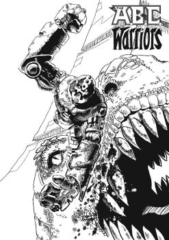 ABC Warriors: Mongrol by JimCampbell