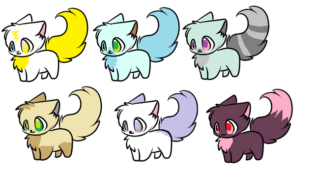 1-3 kitty adopts OPEN by Rorrx