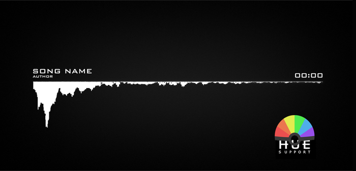 HUE MINIMAL AUDIO VISUALIZER [AFTER EFFECTS] by RXHMR