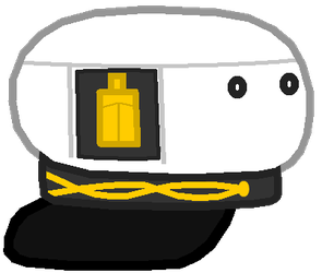 Captain hat object show style asset by A321Robloxplanes