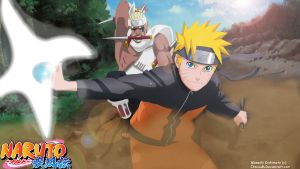 Naruto_and_Bee by ItacsuM