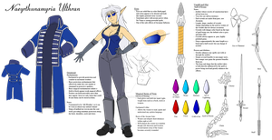 Na'Yumi Reference Sheet by AnimeFreak40K