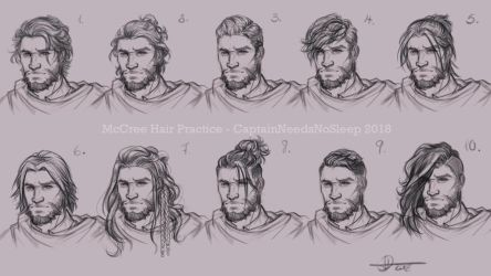 Hair Studies by Darya87