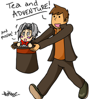 Tea and Adventure! by DarkMousyLoverHaku