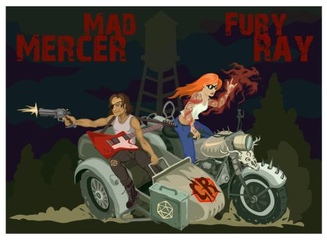Mad Mercer: Fury Ray by EotBeholder