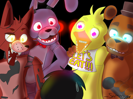 Five nights at Freddy's booty by wolfsam