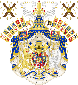 Grand Coat of Arms of the Kingdom of Lotharingia by HouseOfHesse