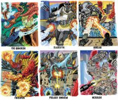 Colossal Kaiju Combat Trading Card Sample 5 by fbwash