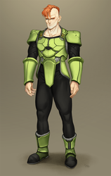 Android 16 by juuhanna