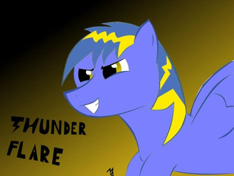 Meet Thunder Flare... My new OC :) by hardstyleravers