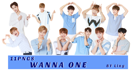 [PNG PACK]WANNA ONE 11PNGS-5 by l8686837