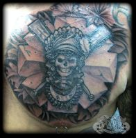 Aztec by state-of-art-tattoo