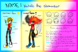 OC reference sheat by Natalie-Sophie