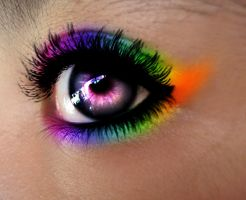 rainbow eyes by aaiiman