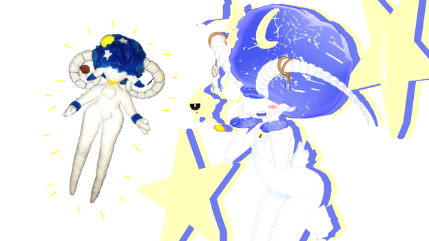 MMD - Astro Meets His Budsie! by Catty-Mintgum