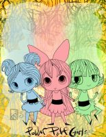 Power Puff Girls- WIP by Kinla