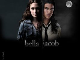 Jacob And Bella by tiffcali06
