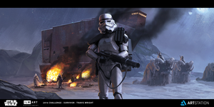 ILM - The Moment - Sandcrawler Ambush by ApneicMonkey