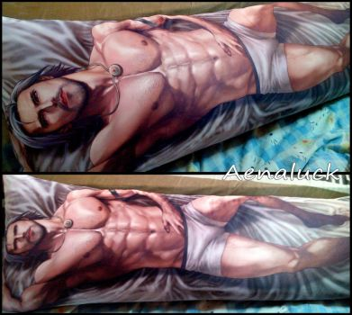 Master Body Pillow Cover by aenaluck