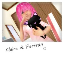 .:Updated:. Claire and Persun by Xella-15