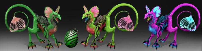 Creature Chroma Pack by IroPagis