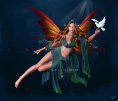 Peace Angel by ashlyn