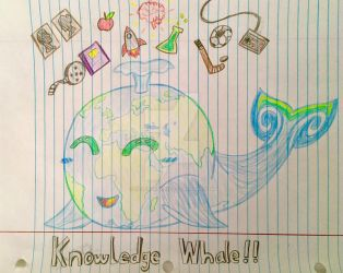 Knowledge Whale: Global Edition by SilverChaos13