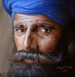 Nihang Photorealism by prince911