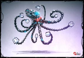 OCTOBOT SENTRY UNIT by pitnerd