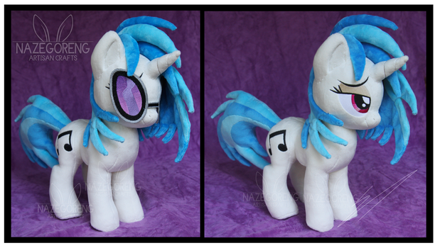 Vinyl Scratch Custom Plush by Nazegoreng