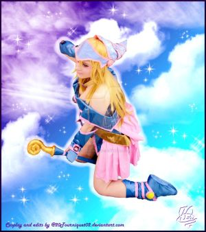 Watching from above - Dark Magician Girl Cosplay by 20Tourniquet02