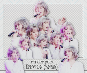 PACK PNG TAEYEON @160220 SKETCHBOOK by victorhwang