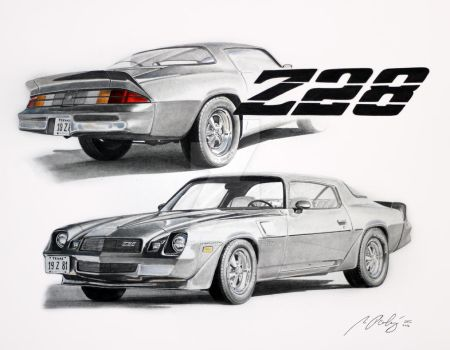 Chevrolet Camaro Z28 by Mipo-Design