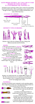Brushes- Basic use and care pt 1 by Puppy-eater
