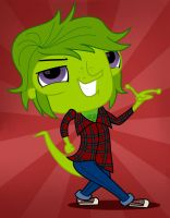Vinnie Terrio as Marshall Lee by Cartuneslover16