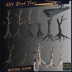 Old Dead Trees by CntryGurl-Designs
