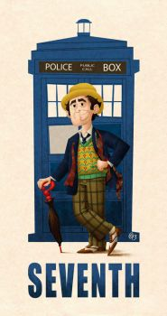 07 Seventh Doctor by Erich0823