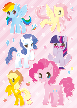 mane6 by inano2009