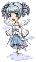chibi angel by zero0810