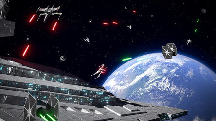 Star Wars: Attack on Earth by Dulana57