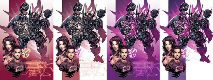 Transformers cover variations by kieranoats