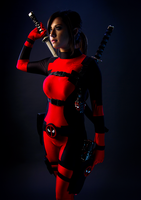 Lady Deadpool by sassmiracosplay
