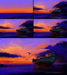 Docked - Process by BisBiswas