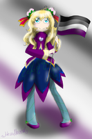 Holding My Flag by HezuNeutral