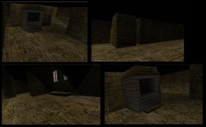 House with stairs inside Part5 by DennisH2010