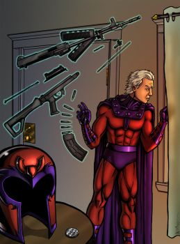 Magneto X - By Any Means Necessary by AngryHatter