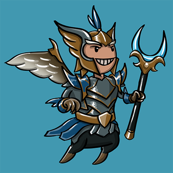 Dota Fanart v2 - Skywrath Mage by KidneyShake