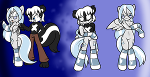 COM It's All Black and White by ChaosCroc