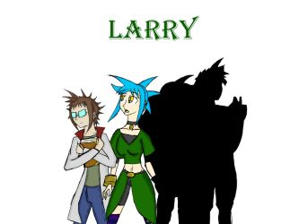 Larry a Refference by epic-agent-63
