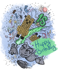 18th DeviantART Birthday Picture by TheYUO